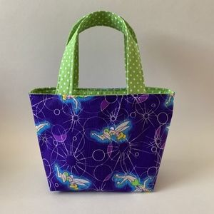 Other - Girls Tote Purse - Tinkerbell Small Polka Dots